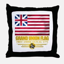 """Grand Union Flag"" Throw Pillow"
