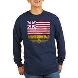 Grand union flag Long Sleeve T-shirts (Dark)