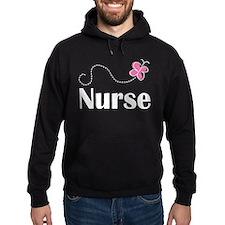 Nurse Gift Butterfly Hoody
