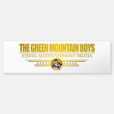 """""""The Green Mountain Boys"""" Bumper Bumper Sticker"""