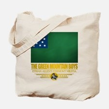 """The Green Mountain Boys"" Tote Bag"