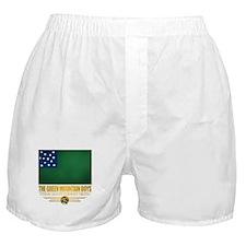 """""""The Green Mountain Boys"""" Boxer Shorts"""