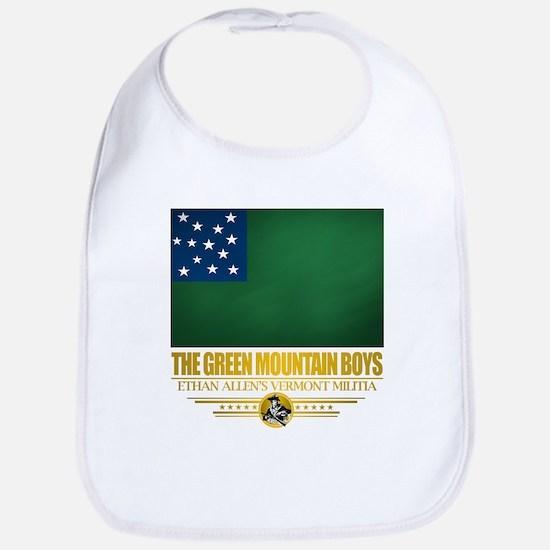 """The Green Mountain Boys"" Bib"