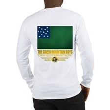 """The Green Mountain Boys"" Long Sleeve T-"