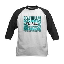 Tribute Square Ovarian Cancer Tee