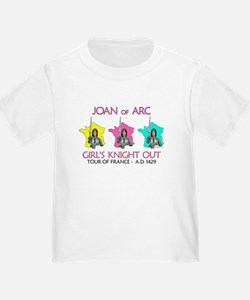 Joan of Arc-Girl's Knight Out T