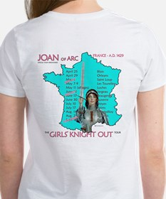 Joan of Arc-Girl's Knight Out Tee