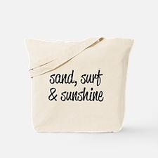 Sand, Surf & Sunshine Tote Bag