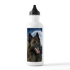 Belgian Tervuren Sports Water Bottle