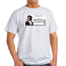 Beethoven 'Def Ludwig' Ash Grey T-Shirt
