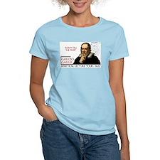 Galileo Heresy Tour Women's Pink T-Shirt