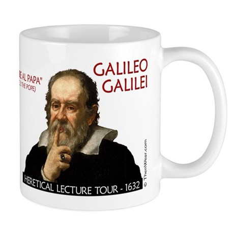 Galileo Heresy Tour Mug