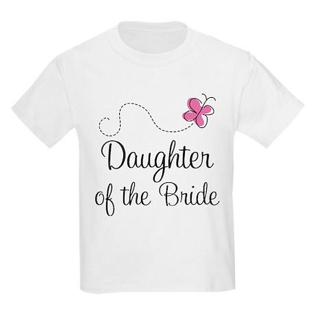Daughter of the Bride Kids Light T-Shirt