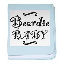 Beardie BABY baby blanket