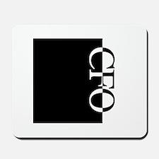 CFO Typography Mousepad