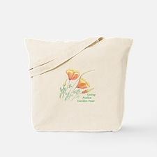 Cute California poppies Tote Bag