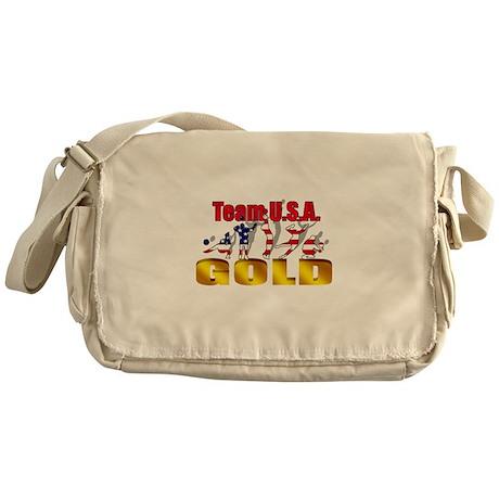 Team USA Volleyball Messenger Bag