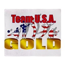 Team USA Volleyball Throw Blanket