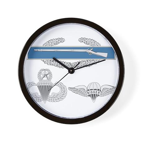 CIB Master Airborne Rigger Wall Clock