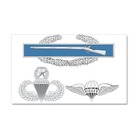 CIB Master Airborne Rigger Car Magnet 20 x 12