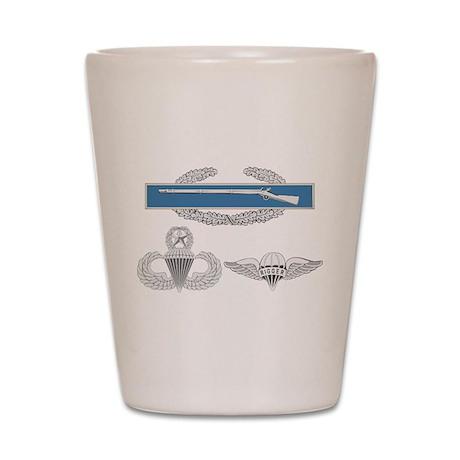 CIB Master Airborne Rigger Shot Glass