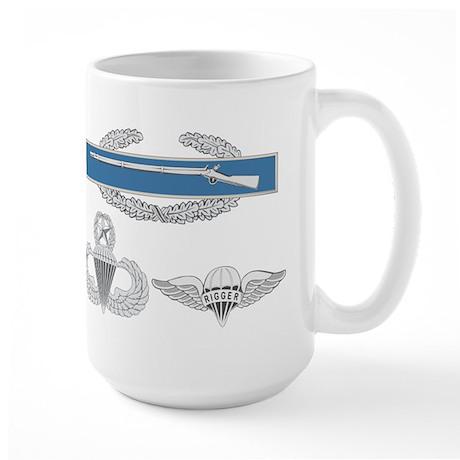 CIB Master Airborne Rigger Large Mug