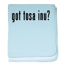 GOT TOSA INU baby blanket