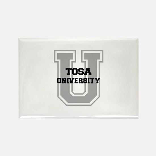 Tosa UNIVERSITY Rectangle Magnet