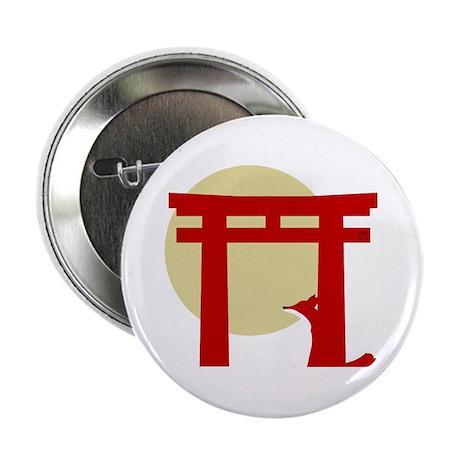 """Torii Fox 2.25"""" Button"""