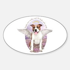 Pit Bull Angel Decal