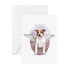 Pit Bull Angel Greeting Card