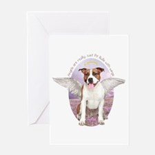 Pit Bull Angel Greeting Card