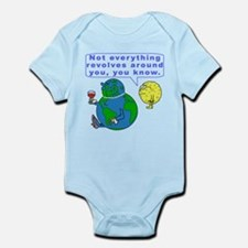 Funny Earth Snob Infant Bodysuit