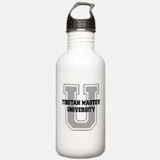 Tibetan Mastiff UNIVERSITY Water Bottle