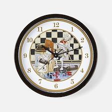 Treacle and Ink Wall Clock