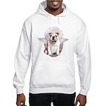 Bulldog Angel Hooded Sweatshirt