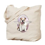 Bulldog Angel Tote Bag
