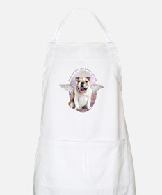 Bulldog Angel Apron