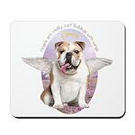Bulldog Angel Mousepad