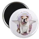 Bulldog Angel Magnet