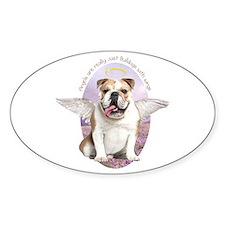 Bulldog Angel Decal