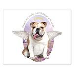 Bulldog Angel Small Poster