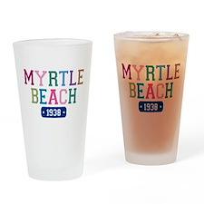 Myrtle Beach 1938 Drinking Glass