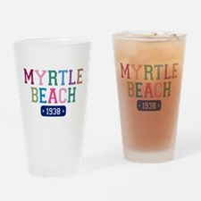 Myrtle Beach 1938 Drinking Glass