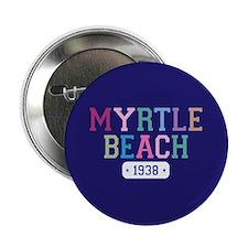 """Myrtle Beach 1938 2.25"""" Button"""