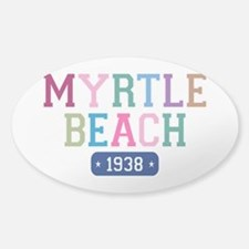 Myrtle Beach 1938 Sticker (Oval)
