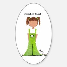 Child of God, Child of God / Oval Decal