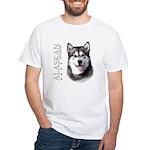 Alaskan Malamute White T-Shirt