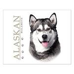 Alaskan Malamute Small Poster