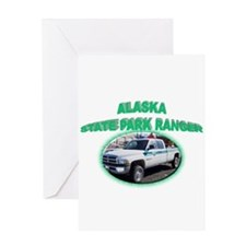 Alaska State Park Ranger Greeting Card